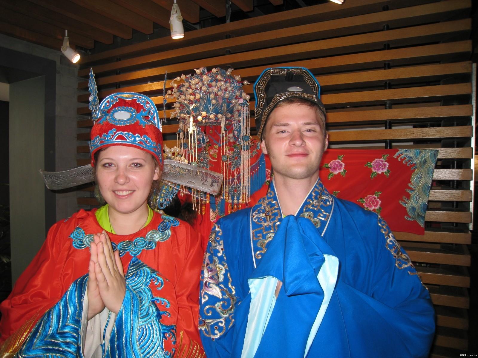 俄罗斯大学生参观国家汉办5年前的留影 - lliiang1017 - 燕山红场的博客